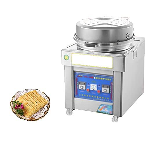 Máquina De Panqueques Comercial, Máquina De Pastel De Capas De Gas Y Gas, Máquina De Pastel De Salsa, Máquina De Bollos con Control Automático De Temperatura