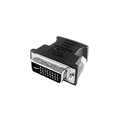 L-link LL-AD-1115 - Adaptador VGA(Hembra) - DVI (Macho), Color Negro