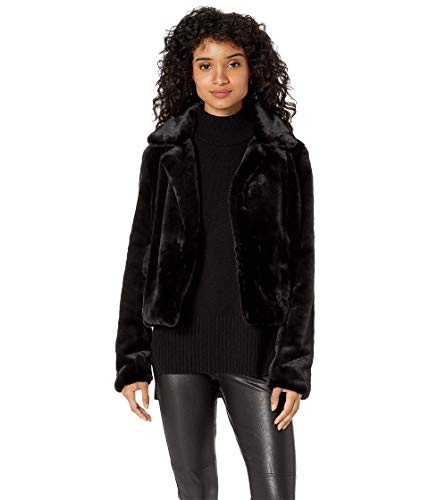 Blank NYC Women's Faux Fur Crop Jacket in Uptown Girl Uptown Girl X-Small