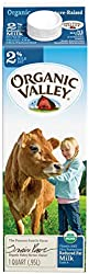 Organic Valley Reduced Fat 2% Milk, 950ml - Chilled
