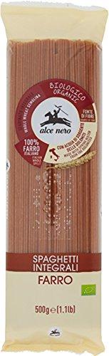 ALCE NERO(アルチェネロ)有機全粒粉スペルト小麦・スパゲッティ 500gの詳細を見る