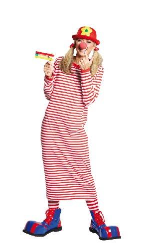 Rubie's NEU Damen Kostüm Rivel-Shirt rot-weiß Gr. 38