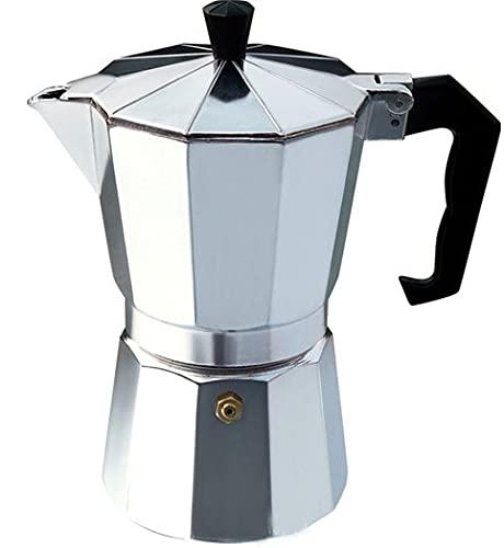 asx Cafetera combinada Italiana Top Moka Espresso Cafetera Cafetera Cafetera Cafetera Cafetera Cafetera (Color: 3CUP 150ML)