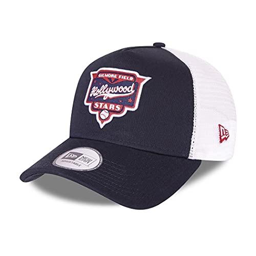 New Era Hollywood Stars MiLB Cap Trucker verstellbar Basecap Snapback Minor League Kappe Baseball blau - One-Size