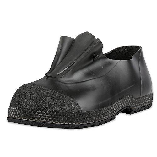"Servus Superfit 4"" PVC Slip-On Men's Overshoes, Black"