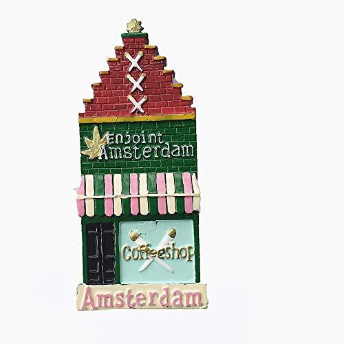 Calamita da frigorifero 3D Amsterdam Paesi Bassi Souvenir Gift Collection Home & Kitchen Decor Adesivo Magnetico Amsterdam Holland Frigorifero Magnete