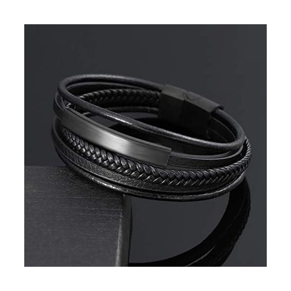 Jovivi 2 Pcs Unisex Bead Bracelet 2
