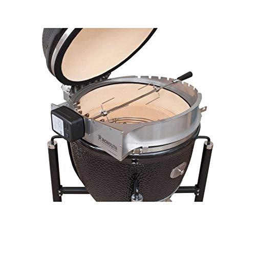 41zZSsnxq1L - Monolith LE Chef Rotisserie Grill Drehspieß Drehspiess Rotisserieaufsatz Keramikgrill