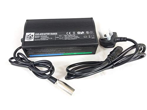 Akku-Ladegerät für Elektromobil, Rollstuhl, 24 V, 5 A, HP8204B (Original)