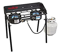 top 10 double oven stove Camp Chef Explorer Hobb with Two Burners