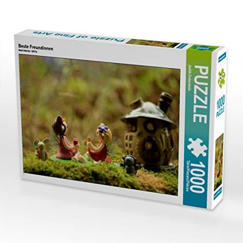CALVENDO Puzzle Beste Freundinnen 1000 Teile Lege-Größe 64 x 48 cm Foto-Puzzle Bild von Judith Doberstein