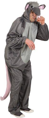 Ratte Overall Unisex Kostüm zu Karneval Fasching 160-175cm
