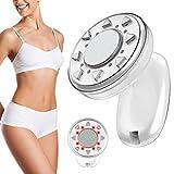 Radio Frequency Massagegerät für Gesicht und Körper Cellulite Removal, 3 in 1 Ultraschall RF LED Schönheit Gerät für Anti-falten und Überschüssiges Fett, Hautstraffung Massager Maschine(Weiß)