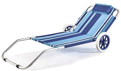 Prime – SDRATTINO trolley beach met ideaal voor SPIAGGIA - Beaver merk
