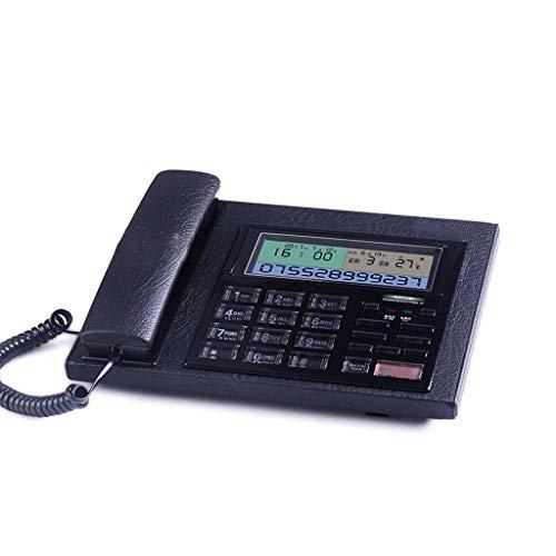 ZHJING Téléphone rétro Entreprise Fixe Mode créative Bureau numérique Ligne Fixe