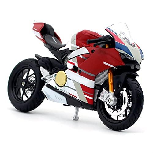 Modelo Escala 1:18 para Ducati Panigale V4 S Motorcycle Bike Diecast Modelo De Juguete Niños Colección Regalos Niños Boy Regalos