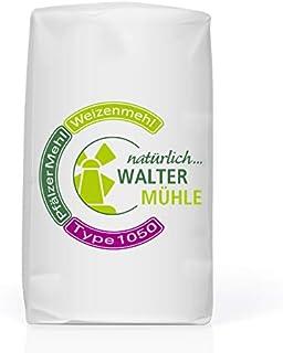 Weizenmehl unbehandelt | Type 1050 | Walter Mühle | 1kg 10 Pack | Premium Bäckerqualität | Natur Pur