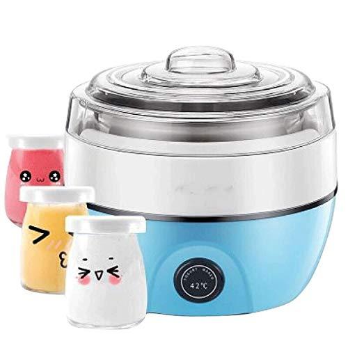 YILIAN Máquina de Yogurt, Fabricante de Yogur electrónico con automático, Fabricante de Helado de Yogurt de Cuarto de galón