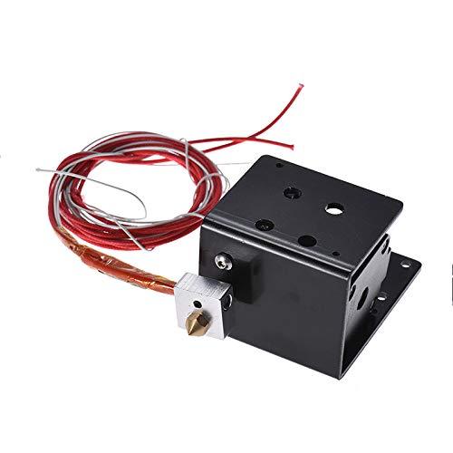 Alician Extruder-Motor-Kit 0,4 mm Düsenheizung Thermistor Aluminium Blockheizung für Anet MK8 A8 3D-Drucker