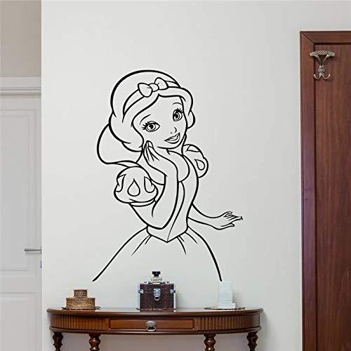 WERWN Decoración de la Pared de la habitación Arte Vinilo Adhesivo Mural Geisha Beauty Kung Fu Wallpaper