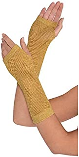 Amscan Fishnet Glove Accessory (2 Pack), 13.6