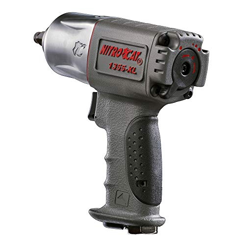 NitroCat 1355-XL 3/8-Inch Composite Air Impact Wrench