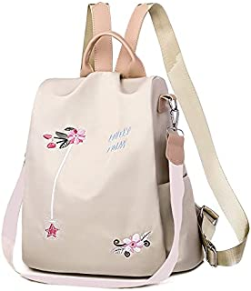 IRMAO 2021 New Flower Embroidered Artistic National Style Oxford Large Capacity Women's Bag Generation Backpack
