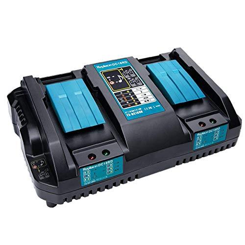 DC18RD cargador rápido reemplazo de la herramienta eléctrica de iones de litio Cargador 4A 7.2V-18V para la herramienta eléctrica Makita batería DC18RA DC18RC