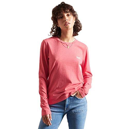 Superdry W6010957a Camiseta, Coral Marl, S para Mujer