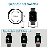 Zoom IMG-2 smartwatch orologio fitness schermo tattile