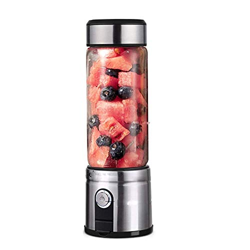 Juicer-portable Fruit Machine Mini Electric Household Fruit Small Juice Machine (Black) JLHBM