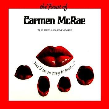 The Finest Of Carmen McRae