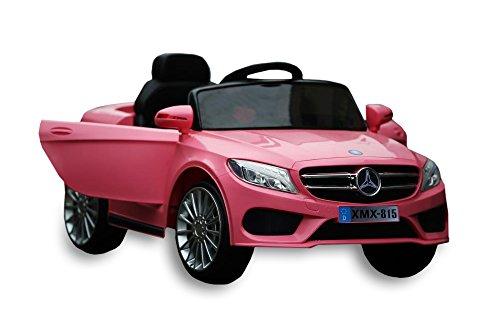 Babycar 815p Babyfun (rosa) Auto Elettrica Macchina per bambini bimbo bimba 12 volt di potenza con telecomando full optional porte apribili