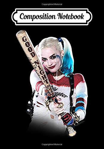 Composition Notebook: Suicide Squad Harley Quinn Bat At You Tank Top, Journal...