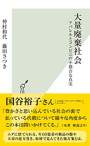 大量廃棄社会~アパレルとコンビニの不都合な真実~ (光文社新書)