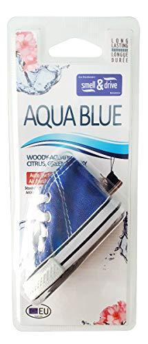 Raceflag - Ambientador para coche, para colgar, zapatos, baloncesto, Aqua