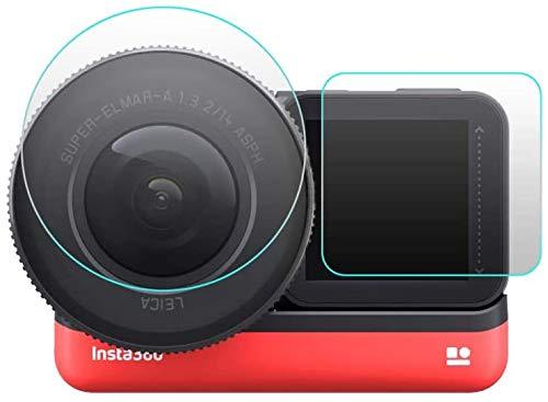 Taoric 1 Zoll Objektiv Film Host Bildschirmfilm (4 Stück) für Insta360 ONE R Kamera