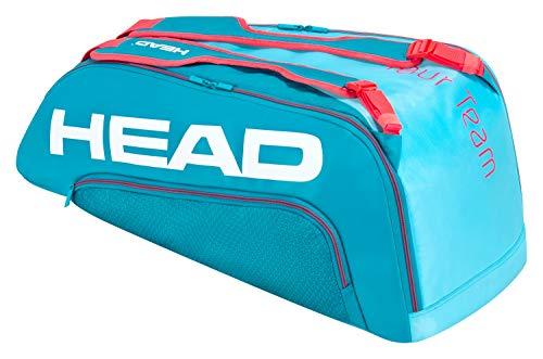 HEAD Unisex-Erwachsene Tour Team 9R Supercombi Tennistasche, blau/pink