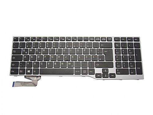 IPC-Computer Fujitsu Celsius H760 Original Tastatur DE (deutsch) schwarz/Silber mit Backlight