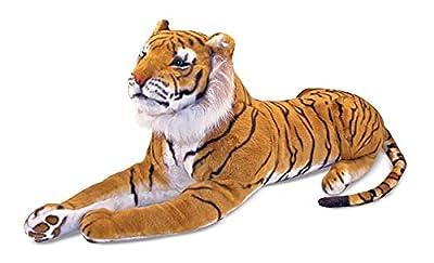 Melissa & Doug Giant Tiger - Lifelike Stuffed Animal (over 5 feet long) from Melissa & Doug