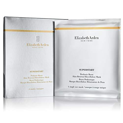 Elizabeth Arden Superstart Probiotic Boost pelle rinnovamento Biocellulose Mask (4Masks)