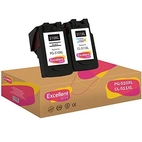 Excellent Print PG-510XL CL-511XL PG-510 CL-511 Compatibili Cartucce per Canon Pixma MX350 MX320 MP280 MP270