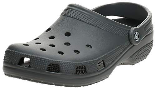 Crocs Classic, Zuecos Unisex Adulto, Gris (Slate Grey), 43/44 EU