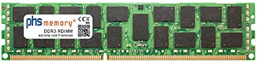PHS-memory 16GB RAM módulo para HP ProLiant ML350 Gen6 (G6) DDR3 RDIMM 1333MHz
