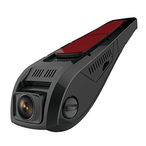 F5-Autokamera mit Recorder und DVR und WLAN von Pruveeo in diskretem Design, für Autos