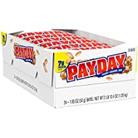24-Count PayDay Peanut and Caramel Candy 1.85 oz Bars