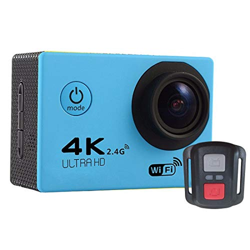 for for F60R 2.0 inch Screen 4K 170 Degrees Wide Angle WiFi Sport Action Camera Camcorder with Waterproof Housing Case & Remote Controller, Support 64GB Micro SD Card(Black) Sports Camera