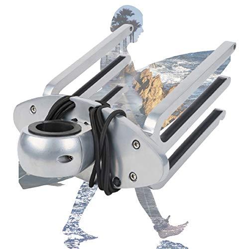 ZPCSAWA Soporte para Tablas de Kneeboard y Wakeboard - para Barcos, Soporte para Tabla de Surf de Aluminio