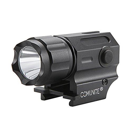 Comunite G03 Rail Mount Táctico Arma luz 600 Lúmenes LED. Ideal Para Picatinny y Glock-type Rieles Para Fácil Instalación y Desarmar