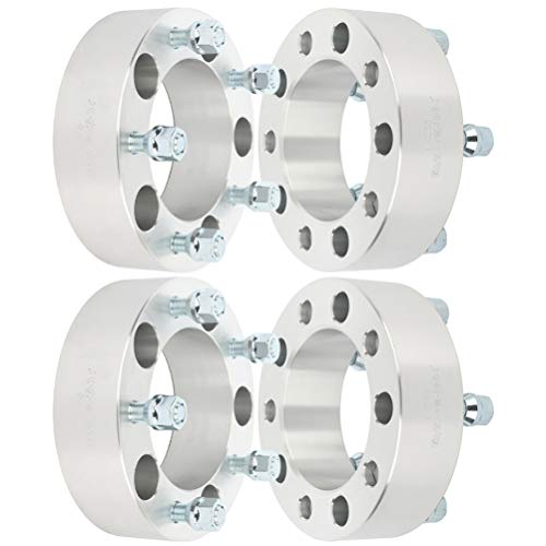 """ANPART 4X 2 inch 5x5.5 to 5x5.5 Wheel Spacers 108mm 5x139.7 fit for Dodge Ram 1500 Ford F-100 F-150 E-150 Econoline Bronco for Suzuki Vitara for Jeep CJ &More with 1/2"""" Studs (5x139.7)"""